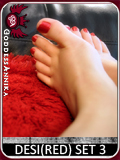 DESI(RED) Feet $35